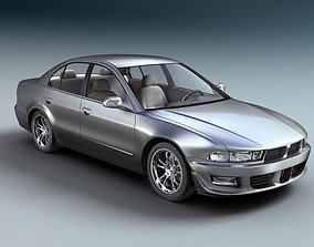 Mitsubishi Galant Sedan Car 3D