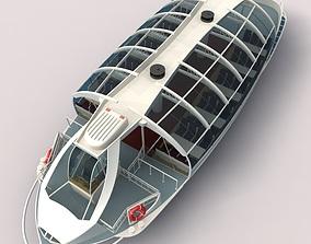 The Seine River Cruise 3d Model