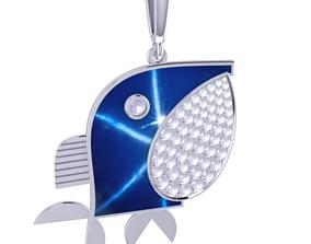 3D print model Whale Charm