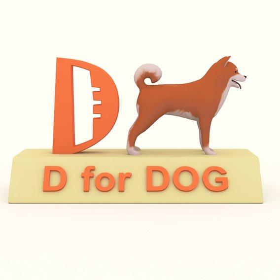 D for Dog Model