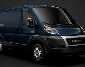 3D Ram Promaster Cargo 1500 LR 118WB 2020