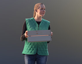 Anna 10139 - Walking Warehouse Woman 3D model