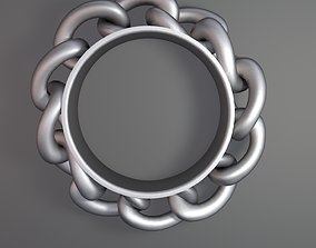 3D printable model Ring made of chain