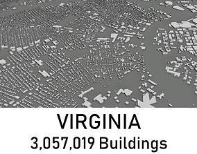 Virginia - 3057019 3D Buildings VR / AR ready