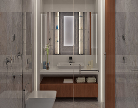 fixture Bathroom interior 3 3D model