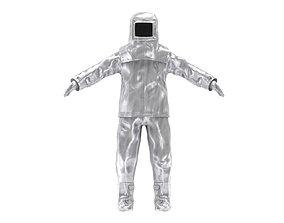 3D model Fire Proximity Suit