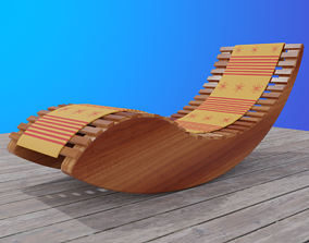 Patio Rocker 3D model
