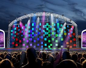 3d Stage Design Concert