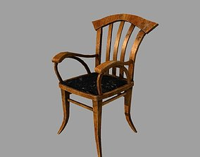 3D model Old armchair
