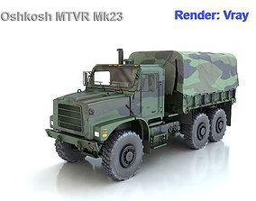 Oshkosh MTVR Mk23 3D model