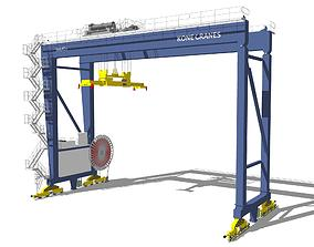 3D industry Automatic Stacking Crane ASC