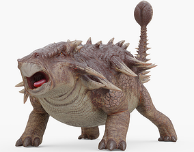 Ankylosaurus Rigged 3D model