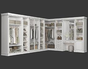 Classic Walk-in closet 91 3D model