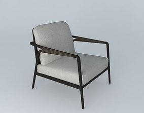 McGuire Knot Lounge Chair 3D