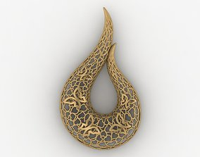 Lighter Pendant 7 Jewelry 3D printable model