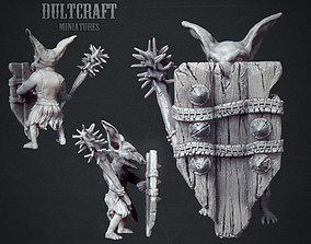 3D print model Goblin warrior