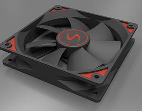 PC Case CPU Fan 3D