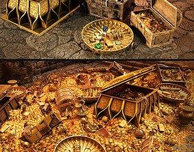 Treasures 3D model