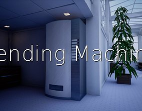 3D model Vending Machine SHC Quick Office