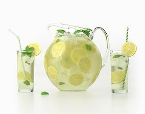 Lemonade Set 3D