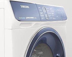 3D Washing machine Samsung WW80K52E61W
