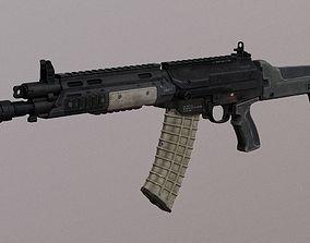 3D model AR-19 Assault Rifle Multi Caliber Carbine PBR 1
