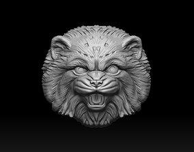 pendant Cat Pallass manul 3D print model