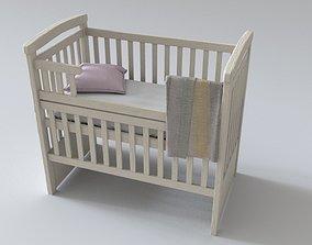 Minimalistic Crib 3D model