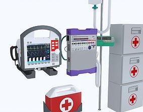 Ambulance Equipment 3D model