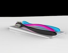 3D Modern toothbrush holder
