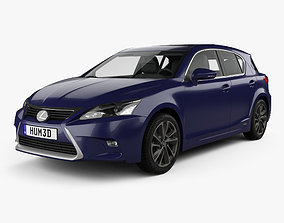3D model Lexus CT Hybrid Prestige 2018