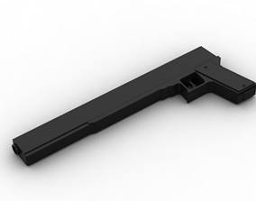 3D print model Alucard Cosplay Jackal Gun