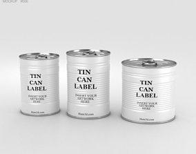 Tin Can Set 3D