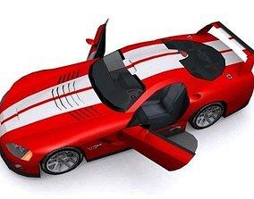 Dodge Viper GTS-R 3D model