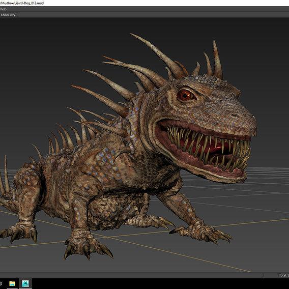 Monstrous Lizard.