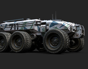 Technical Vehicle transporter 3D model