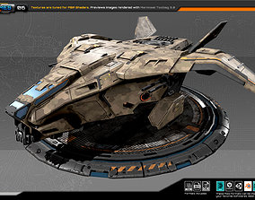 3D model RTS Dropship - 06