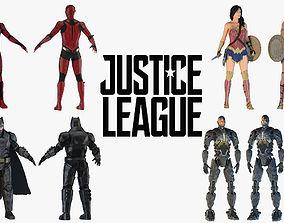 Justice League 3D model