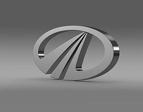 3D Mahindra Logo