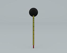 Thermometer for aquarium 3D asset