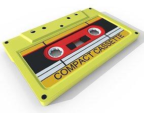 3D model Analog Cassette Audio Tape