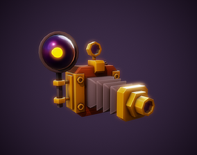 Stylized Camera - Tutorial Included 3D asset