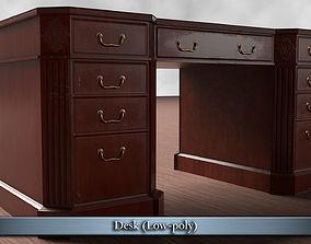 3D asset PBR Realistic Desk