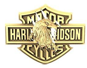 Harley-Davidson eagle 2 3D printable model