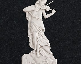 3D print model Girl violin