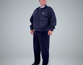3D model TSA Officer Man WMan0201-HD2-O02P02-S