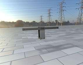 3D model Power Pole Cross Connection 2 - Object 107