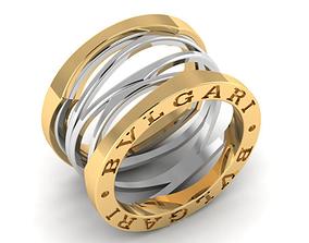 Buvlgari ring 3D printable model