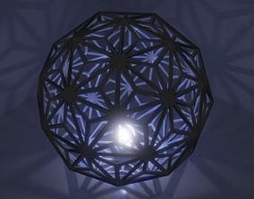 Snowflake Light 3D model