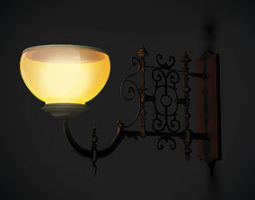 Sconce Crimson Peak 3D model